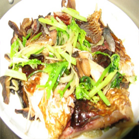 农家腊鱼块