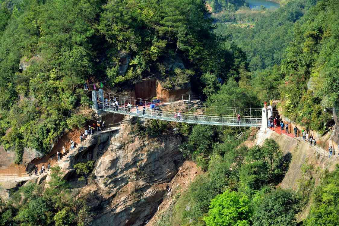 浏阳石牛寨玻璃桥 - 景点介绍 – 湖南浏阳石牛寨风景
